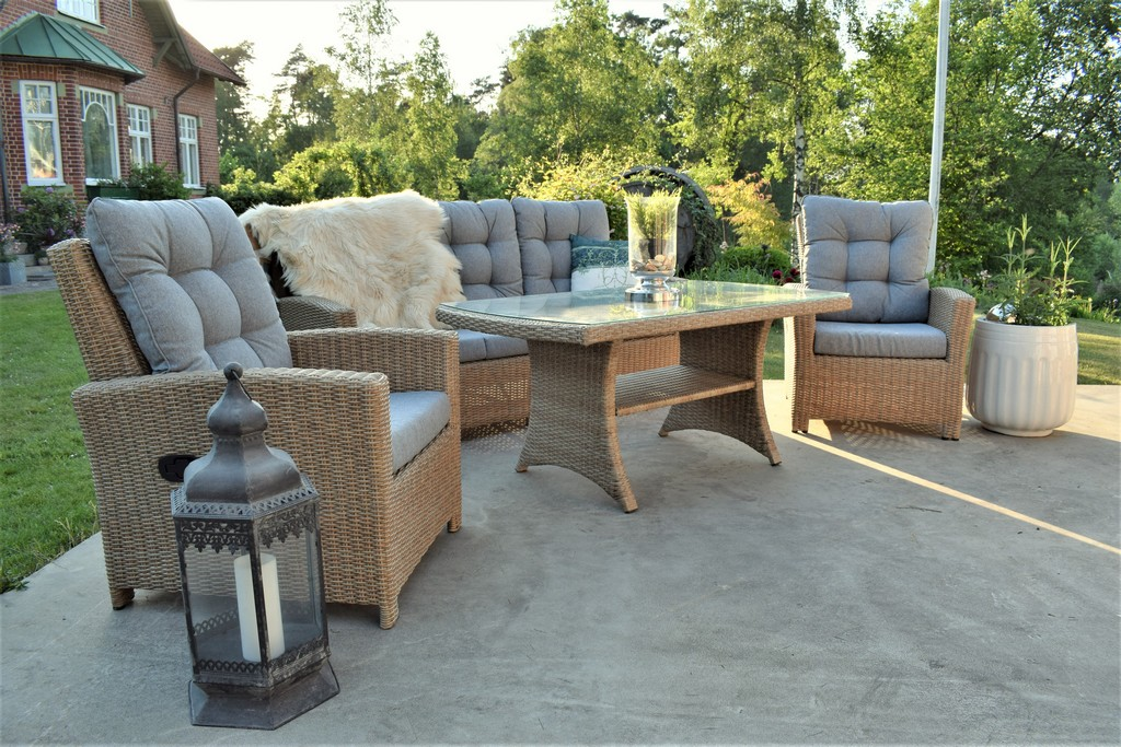Picture of: Orlando High Back Sofa Set